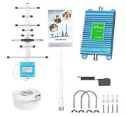 Att And Verizon Signal Booster Gsm 2g, 3g And 4g Lte, Cover 3000sq Ft Home