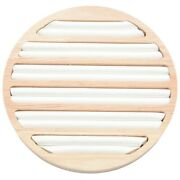 50x1 Pc S Display Tray Wooden Round Holder Showing Plate Jewelry Organizer
