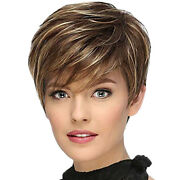 50xshort Straight Synthetic Wig Female Natural Wig For Role-playing Party And