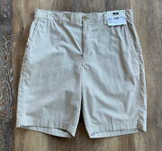 80 New With Tags Menandrsquos Joseph Abboud Shorts Beige Bottoms Size 32