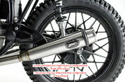 Exhaust 2 2 Zard Racing Stainless Steel Polished Bmw R80 1980-98