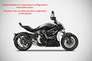 Exhaust Zard Steel Black-front Fender Front Approved Ducati Xdiavel
