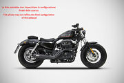 Exhaust Sport Zard Steel Polished Approved Hd Sportster Iron 883 2003 13