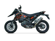 Exhaust Conical Zard Steel-steel Ceramic Approved Ktm 690 Sm 2006-08