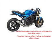 Exhaust Zard Steel-carb Black Conical Approved Triumph Speed Triple 1050