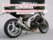 Exhaust Zard Steel-carb Conical App. Triumph Speed Triple 955 2002 - 04