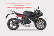 Exhaust 3-1 Zard Steel-carb Black Conical Approved Triumph Daytona 675 13