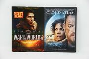 Lot Of 2 Sci-fi Dvd's War Of The World And Cloud Atlas Pre-owned
