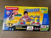 Rokenbok Huge Lot Vehicles Rok Lift Monorail Tower And Much More