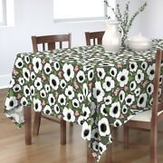 Tablecloth Anemone Anemone Flowers Flowers Florals Anemones Cotton Sateen