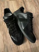 Maison Margiela Replica Leather And Suede Sneakers Mens Shoes Size 45 / 12 Us