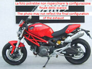 Double Exhaust Conical Zard Carbon Racing Ducati Monster 796 2010 14