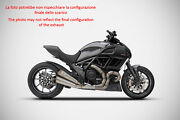 Double Exhaust Zard Steel Approved Ducati Diavel 2011-18