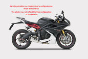 Exhaust Zard Steel-carb Black Conical Approved Triumph Daytona 675 2013