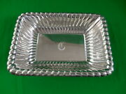 Reed And Barton Sterling Silver Rectangular Bowl / Dish X303f 9 X 6.5 350g