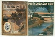 Lot Of 27 Antique Sheet Music Song Books Cover Art Early 20th Century