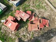 Ih Tractor 75 Lb. Front Suitcase Weights Part 383392r2 Tag 935