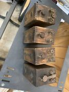 Four4 Antique Collectible Ford Model And039tand039 Type Wood Battery Box Ignition Coil