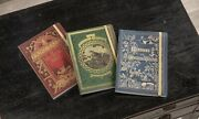 Victorian Trading Co Set Of 3 Dusty Covers Archival Art Hardcover Journals