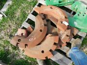 International Harvester Tractor 1/2 Wheel Weights 8 Total Tag 918