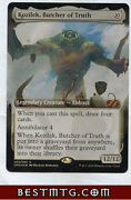 Mtg Kozilek Butcher Of Truth B Foil Ultimate Masters Box Toppers