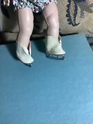 Vintage Pair Madame Alexander Ice Skates. Fits 71/2 Inch Hp Doll Perfect