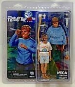 Neca Friday The 13th Pamela Voorhees And Jason 2015 Sdcc Exclusive Figure Set Rare