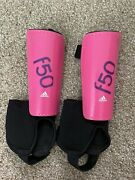 Adidas F50 Youth Soccer Shin Guards Size M Ages 6-9