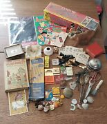 Junk Drawer Lot - Jewelry Comics Sealed Baseball Cards Silver Old Things.