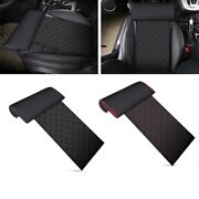 50xautomobile Seat Leather Leg Pad Support Extension Mat Soft Foot Support Leg