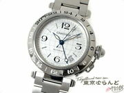 Pasha C Meridian Gmt Watch Boys Automatic Date Silver W31078m7 Stainless