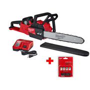 Milwaukee Chainsaw M18 Fuel 16 In Li-ion Battery Brushless Cordless Kit Fast Cut