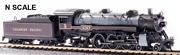 Broadway Limited Imports Paragon3 Usra Light Pacific 4-6-2 Cp 2317 N Scale