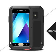 For Samsung Metal Anti-fall Back Cover Case Strong Waterproof Protective Cases