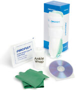Aircast Ankle Sprain Care Kit - Incls Ankle Brace Cold Pack Exercise Band Dvd