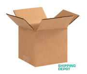 100 5x5x4 Cardboard Paper Box Mailing Packing Shipping Boxes Corrugated Carton