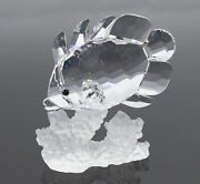 Crystal Figurine 162888 No Box Butterfly Fish