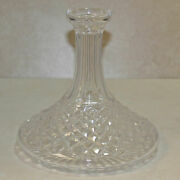 Waterford Ships Decanter, No Stopper, Alana Ships Decanter, 7.5h - Mint No Box
