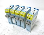 Measurement Technology Mtl-3013 2ch Switch Proximity Detector Relay Lot Of 5