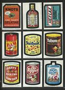 Wacky Packages 1974 Series 8 Complete Set 30 Of 30 Nm/nmmt++ Many Grade-able