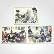 Our Culture Parts 1 2 And 3 Fred Skarface Skinhead Punk Oi Mods Psycho Photo Books