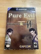 Pure Evil 2-pack Nintendo Gamecube Includes Resident Evil And Re0 Complete