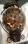 Partylite Global Fusion Lantern Beautiful Handcrafted P9238
