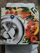 L. Tellier Mouli Food Mill Tomato Strainer Crusher S3 Tinned 5 Qt. Capacity