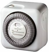 Intermatic Tn811c Programmable Lamp And Appliance Timer - White New Sealed