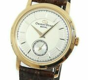 Orient Orient Star Royal Dn00-a0 Small Second Manual Winding Menand039s Watch