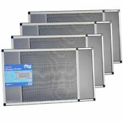 Expandable Window Screen - Horizontal 20 H X 28 - 54 W, 4 Pack Of Large