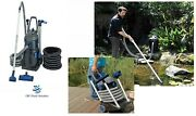 New Oase Pondovac 5 Fish / Koi Pond And Pool Vacuum W/ Continuous Suction 2 Yr Wty