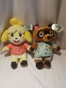 Animal Crossing New Horizons Isabelle And Tom Nook Build A Bear With Music