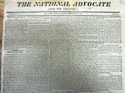 1815 War Of 1812 Newspaper General Andrew Jackson At The Battle Of New Orleans